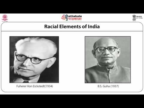 Indian people: racial, ethnic, linguistic and religious elements (composition)  (ANT)