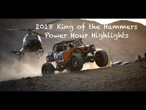 2018 King of the Hammers Power Hour Highlights