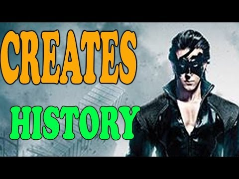 Krrish 3 - Creates History Highest single day collections ever - Box Office Report