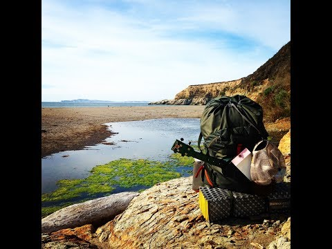 Point Reyes Backpacking to Coast Camp - 2017