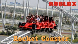 [Roblox] Rocket Coaster POV