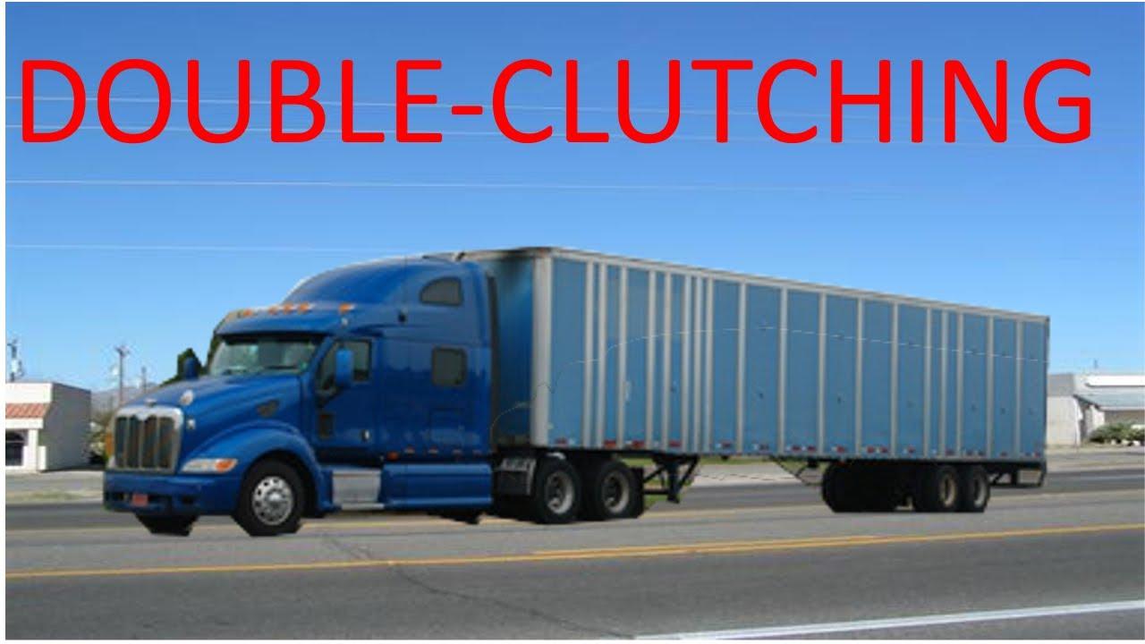 Semi Truck Transmissions : A commercial semi truck transmission shift youtube
