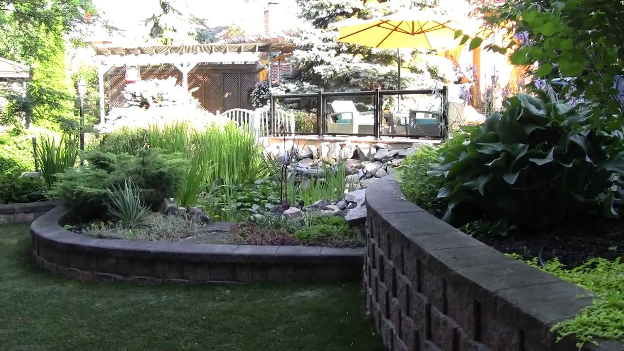 Garden landscaping landscape design ideas rainbow for Garden design ideas toronto