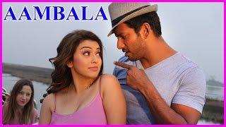 aambala tamil movie stills vishal hansika hd