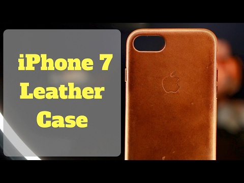 Apple Leather Case! - 3 Months Later