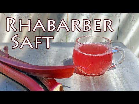 Rhabarber-Saft selber machen - Rezept The Krauts - YouTube