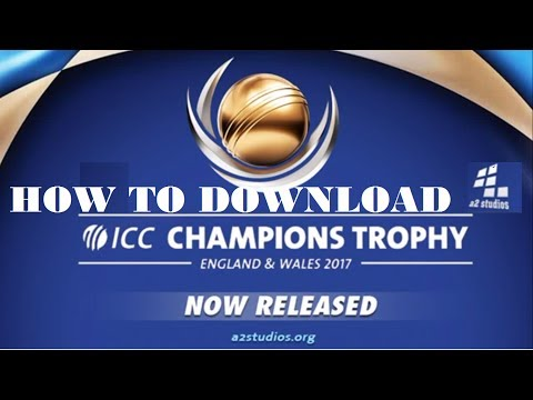 HOW TO DOWNLOAD A2StudiOs  ICC Champions Trophy 2017