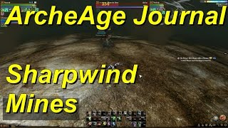 ArcheAge Journal Entry 08 Sharpwind Mines Walkthrough with Mentor Quest