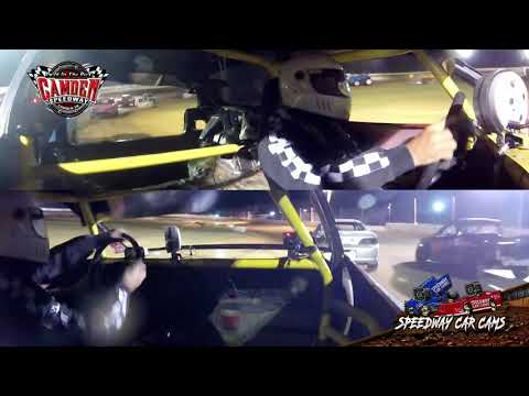 #Ono Michael Patton - Hummer - 7-27-19 Camden Speedway - In-Car Camera