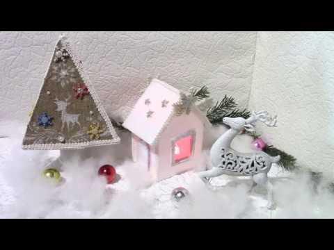 Домик-светильник /Lamp house. ХоббиМаркет