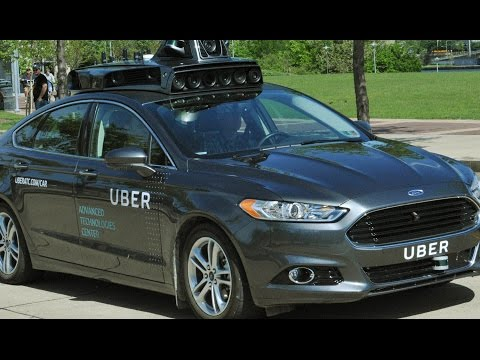 Self-Driving Uber Cars Driving in Pittsburgh