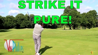 HOW TO CENTER STRIKE THE DRIVER (EVERY TIME!)