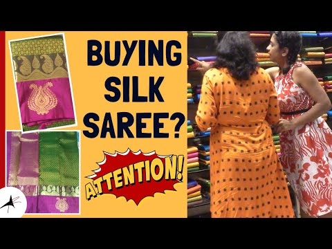Silk Saree Shopping In Jayanagar | Tips To Buy A Traditional Silk Saree | Arpitharai