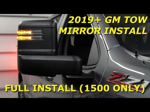 GM Silverado & Sierra 1500 Towing Mirror Install (2019 – 2021)