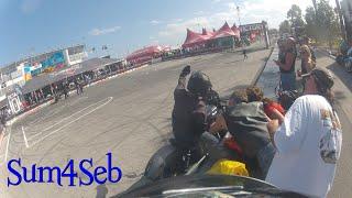 Victory Octane Stunt Show Daytona Bike Week 2016 |¦| Sum4Seb Motorcycle Video