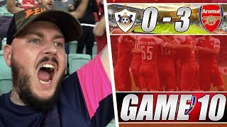 Qarabag 0 vs 3 Arsenal - That Was Not As Comfortable As The Score Suggests - Matchday Vlog