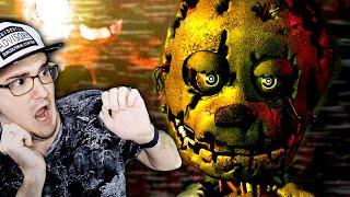 FNAF 3 - ОПЯТЬ СТРАШНО?!?! БОИМСЯ И ПЛАЧЕМ В Five Nights at Freddy's 3 ► (донат в описании) ФНАФ
