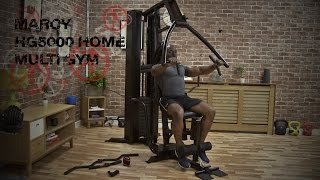 Marcy Eclipse HG5000 Home Multi Gym Exercises