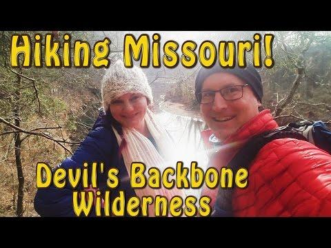 HIKING MISSOURI!  Devil's Backbone Wilderness!