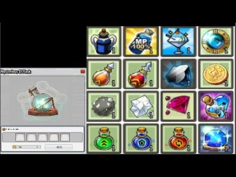 ✬Elsword✬ - Testing Mysterious El Flask feature - ( Alchemis