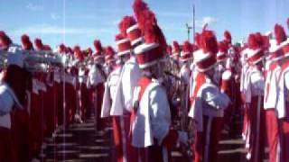 Nebraska Marching Band Playing At The Sd Harbor On Dec 30.