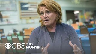 Sen. Heidi Heitkamp apologizes for naming sex assault victims without permission in ad