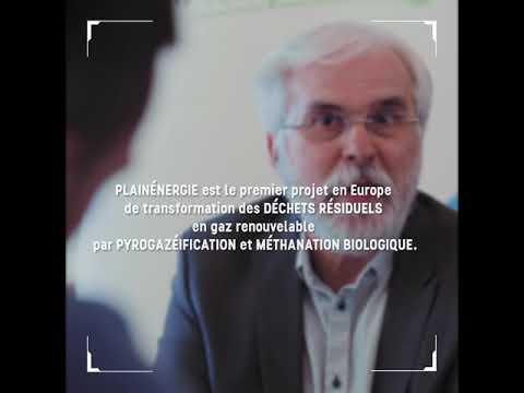 PLAINENERGIE - 1er projet en Europe de valorisation des déchets résiduels en gaz renouvelable