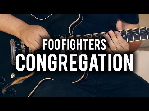 Foo Fighters - Congregation - Guitar Cover - Fender Chris Shiflett Telecaster - Gibson ES335