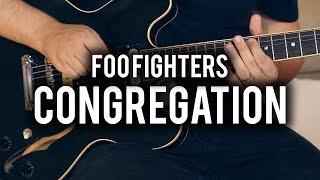 Foo Fighters - Congregation - Guitar Cover - Fender Chris Shiflett Telecaster - Gibson ES335