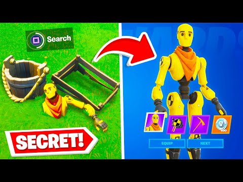 *NEW* SECRET SKINS Found In Fortnite! (NEVER SEEN BEFORE)