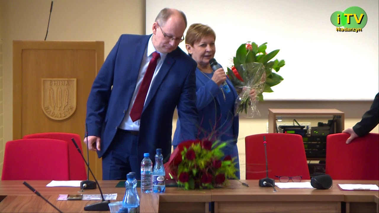 Złożenie ślubowania przez nowo wybranego Wójta Gminy Nadarzyn