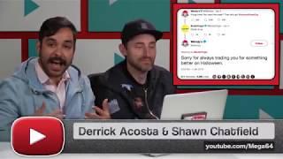 Mega64 Podcast 511 - Derrick's Joke Cut by Fine Brothers