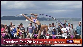 Pole Vaulters at the 2016 Freedom Fair