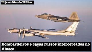 Bombardeiros e caças russos interceptados no Alasca