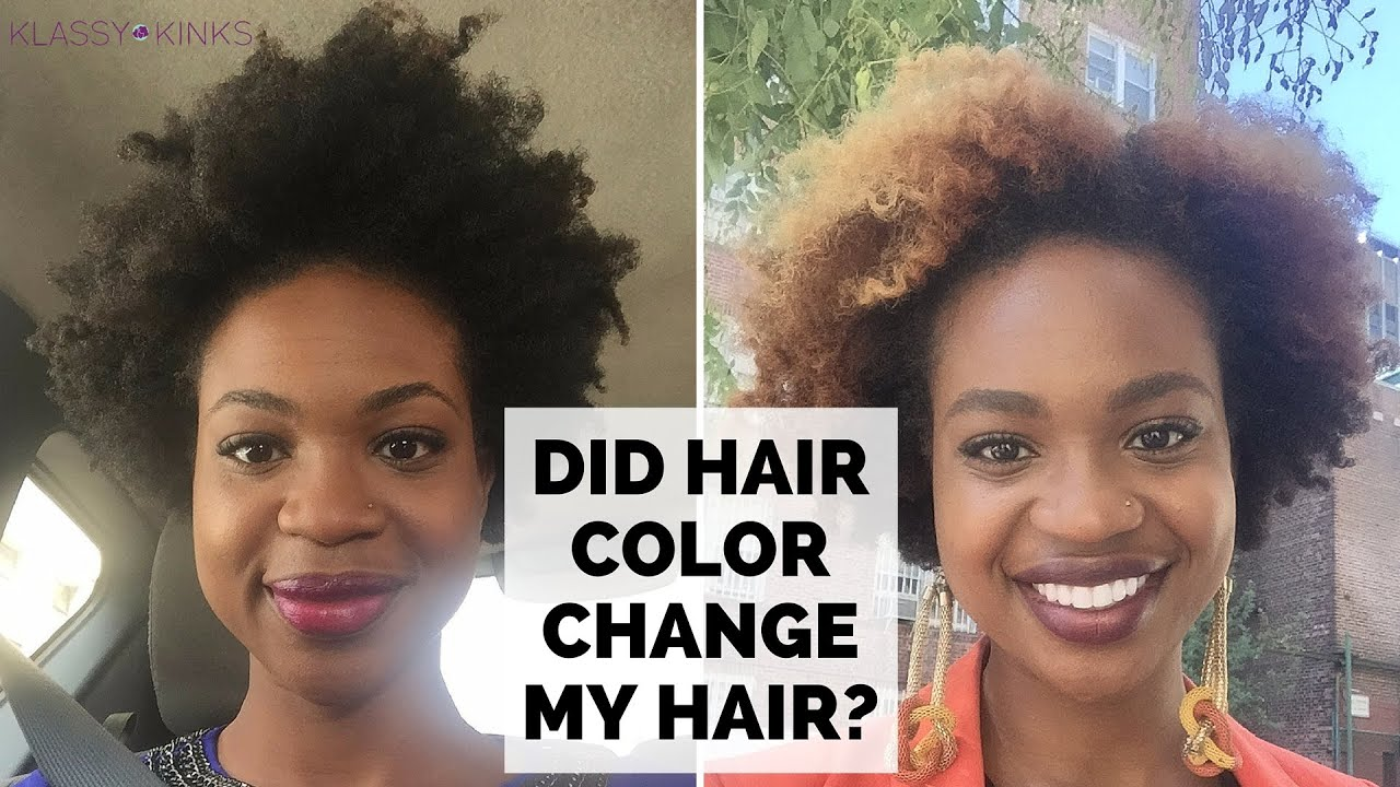 Did Hair Color Change My Hair Texture 6 Months Color Update Youtube