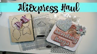 ALIEXPRESS HAUL | METAL DIES & STAMPS