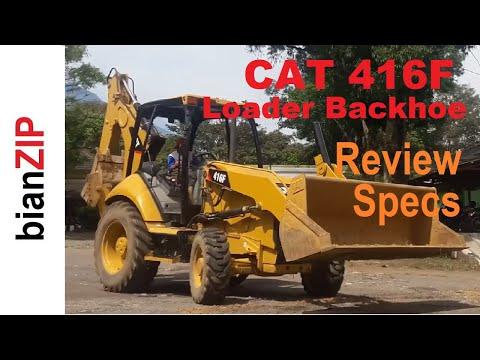 Caterpillar 416F Loader Backhoe Specs & Review - YouTube