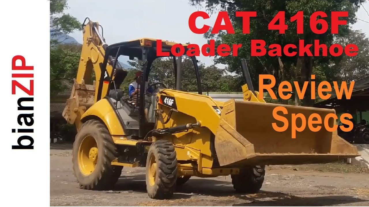 Caterpillar 416F Loader Backhoe Specs & Review