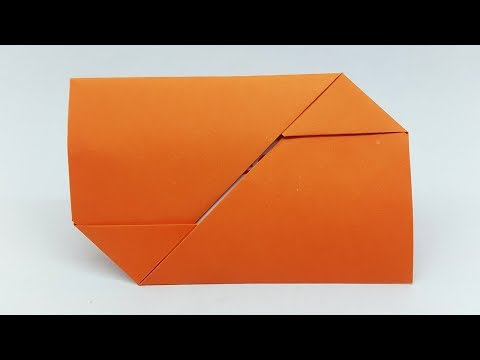Paper Envelope making with Paper at Home without Glue Tape and Scissors (Best Wishes Card)