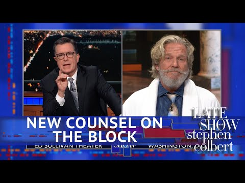Colbert Interviews Trump's New White House Attorney