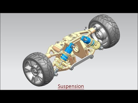 Suspension (Assembly Volume-2) Video Tutorial--Siemens NX