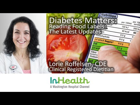 Diabetes Matters: Reading Food Labels: The Latest Updates