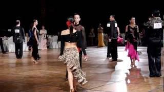 Singapore 1st Open Dancesport Championship: Rumba (Michael Badong- Crystal Phuong) Thumbnail