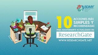 10 recomendaciones para el uso eficiente de ResearchGate