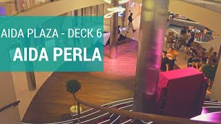 AIDAperla: Plaza (Deck 6), Scharfe Ecke & Tapas Bar
