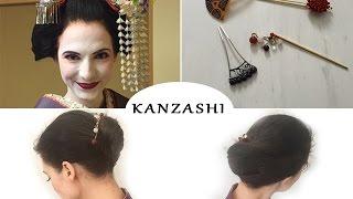 Kanzashi -Popularne upięcie włosów w Japonii