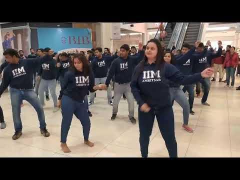 IIM AMRITSAR - FLASHMOB 2018