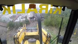 Hidromek 102S bekoloder, kepçeyle toprak toprak tesviyesi yapicaz, (#gopro)