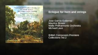 Eclogue for horn and strings