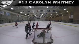 2018-2019 #13 Carolyn Whitney GY 2019 Carolina Lady Eagle Highlights